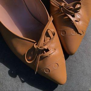Handmade in Florence vintage leather heels